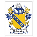 Halyburton Coat of Arms Small Poster