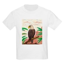 The Great Eagle of Freedom Original Drawing T-Shirt