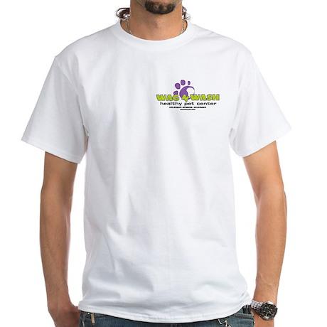 Wag n Wash White T-Shirt