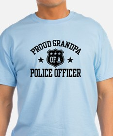 Proud Grandpa of a Police Officer T-Shirt