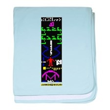 Arecibo Message baby blanket
