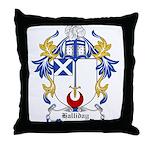 Halliday Coat of Arms Throw Pillow