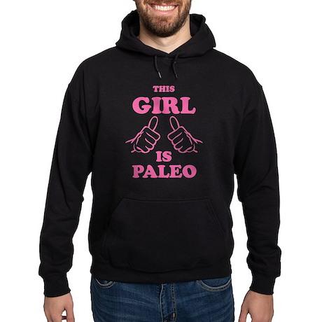 This Girl is Paleo Hoodie (dark)