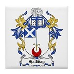 Halliday Coat of Arms Tile Coaster