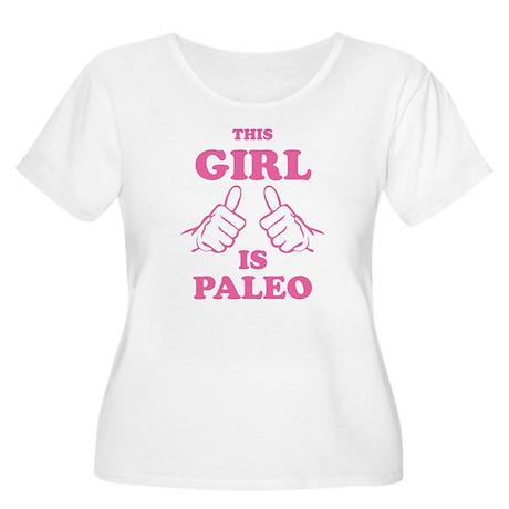 This Girl is Paleo Women's Plus Size Scoop Neck T-