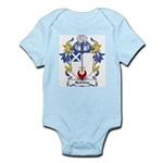 Halliday Coat of Arms Infant Creeper