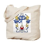 Halliday Coat of Arms Tote Bag