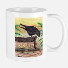 The Curious Crow Original Drawing Mug