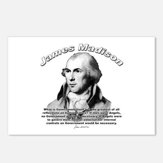 James Madison 10 Postcards (Package of 8)