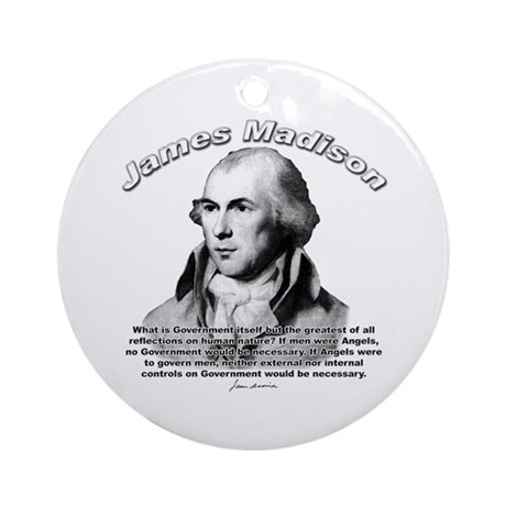James Madison 10 Ornament (Round)