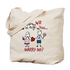 Will You Marry Me Tote Bag