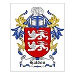 Haldon Coat of Arms Small Poster
