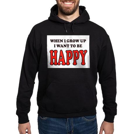 HAPPY Hoodie (dark)