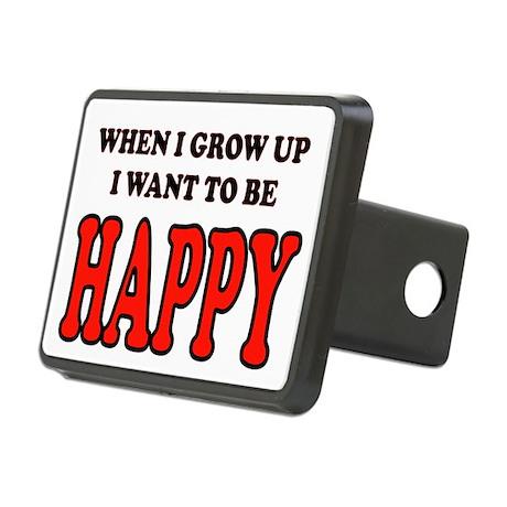 HAPPY Rectangular Hitch Cover