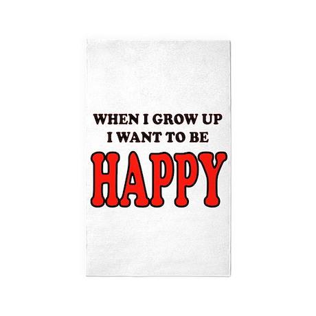 HAPPY 3'x5' Area Rug