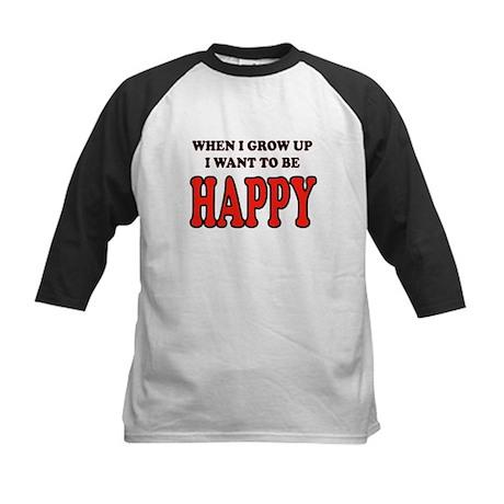HAPPY Kids Baseball Jersey