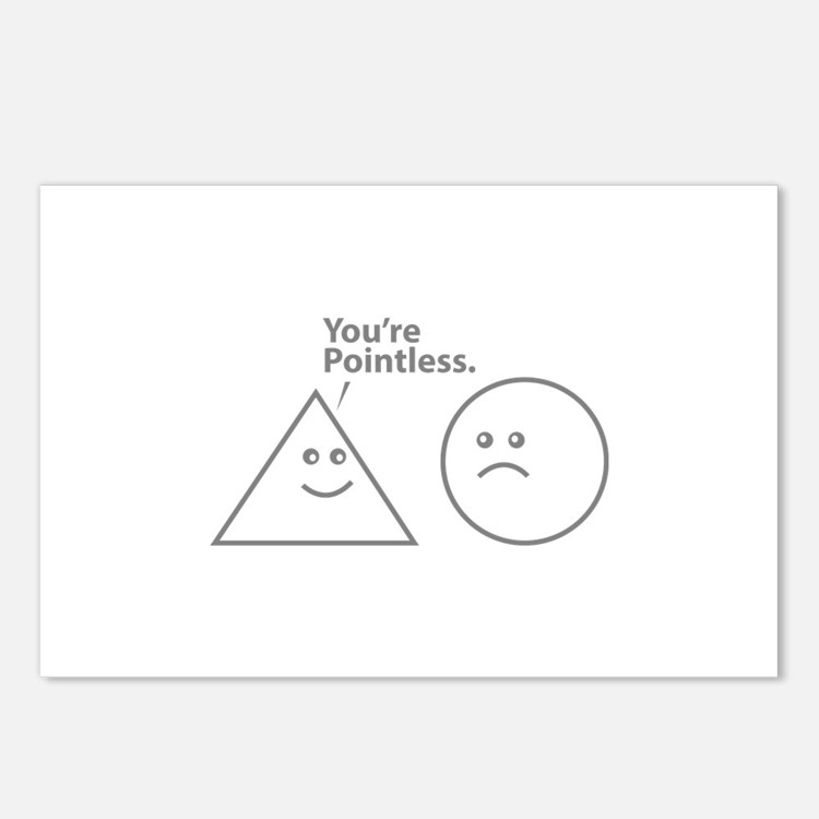 You're pointless Postcards (Package of 8)