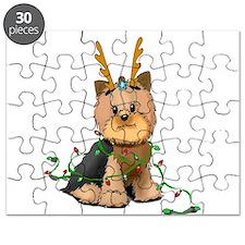 Christmas Yorkie Puzzle