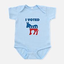 I Voted Democrat Infant Bodysuit