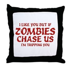I'm Tripping You Throw Pillow