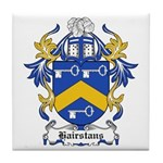 Hairstans Coat of Arms Tile Coaster