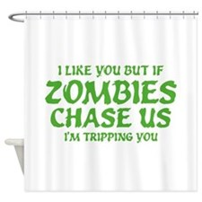 I'm Tripping You Shower Curtain