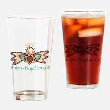 Garden Angel Drinking Glass