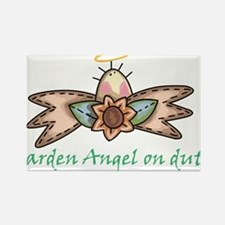 Garden Angel Rectangle Magnet