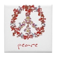Attraction Simple Peace Tile Coaster