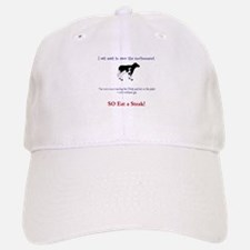 Eat meat-save the environment Baseball Baseball Cap