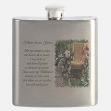 dalmatian summer garden poem.png Flask
