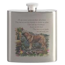 Leonberger Art Gifts Flask
