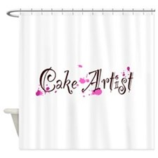 Cake Artist Shower Curtain