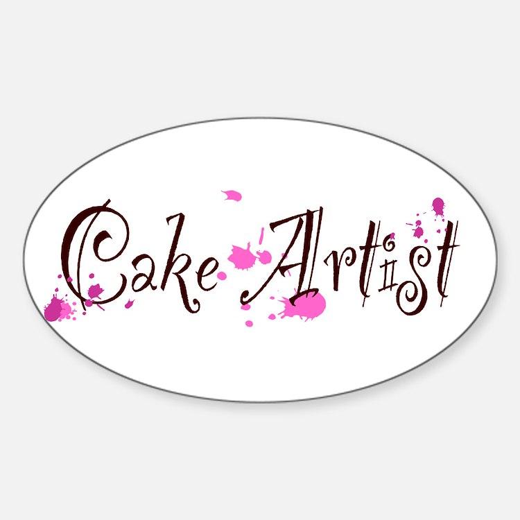 Cake Artist Decal