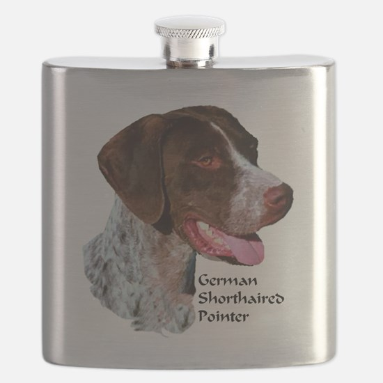 German Shorthaired Pointer Flask