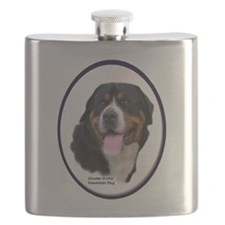 Greater Swiss Mtn Dog Flask