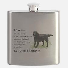 Flat-Coated Retriever Flask
