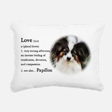 Papillon Gifts Rectangular Canvas Pillow
