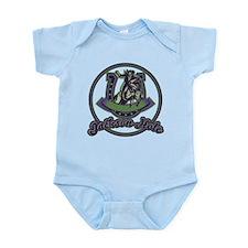 Jackson Hole Cowboy Lavender Infant Bodysuit