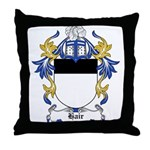 Hair Coat of Arms Throw Pillow