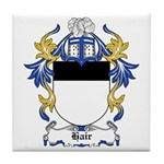 Hair Coat of Arms Tile Coaster