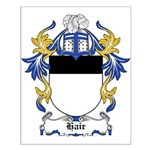 Hair Coat of Arms Small Poster