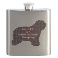 Polish Lowland Sheepdog BFF Flask