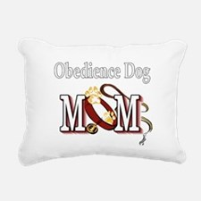 Obedience Dog Mom Rectangular Canvas Pillow