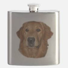 golden head study Flask