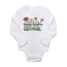 Master Gardener Long Sleeve Infant Bodysuit