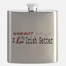 NB_Irish Setter Flask