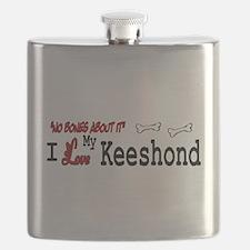 NB_Keeshond Flask