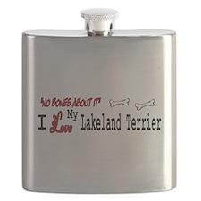 NB_Lakeland Terrier Flask