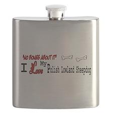 NB_Polish Lowland Sheepdog Flask